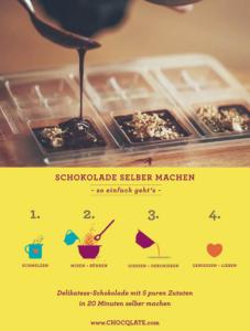 Schokolade für Genießer selber herstellen