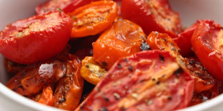 Sonnen getrocknete Tomaten
