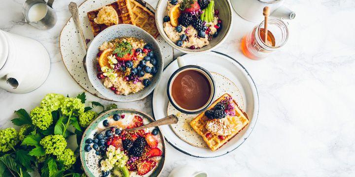 Frühstück, die wichtigste Mahlzeit des Tages