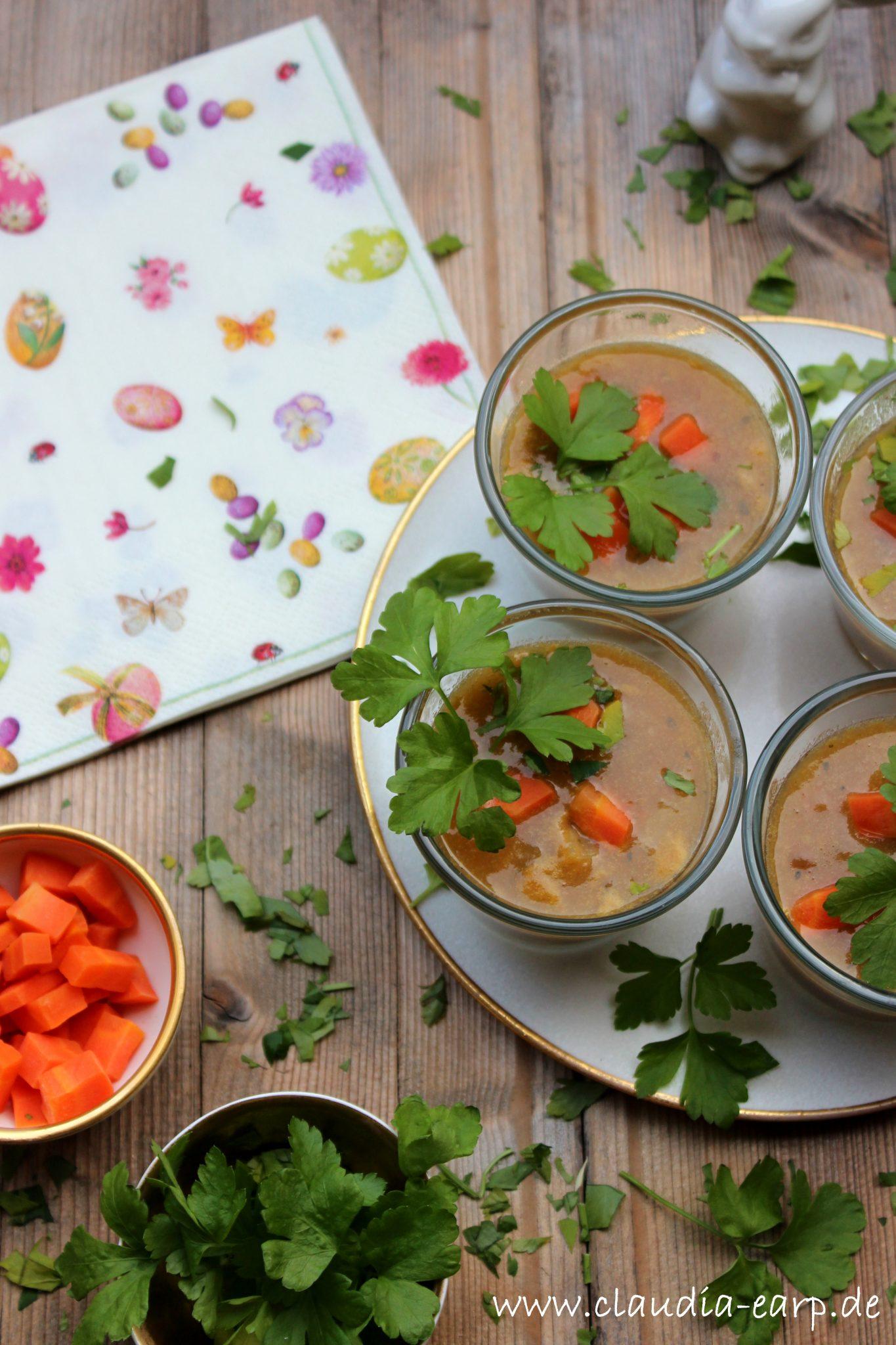 Orangen-Linsen-Suppe