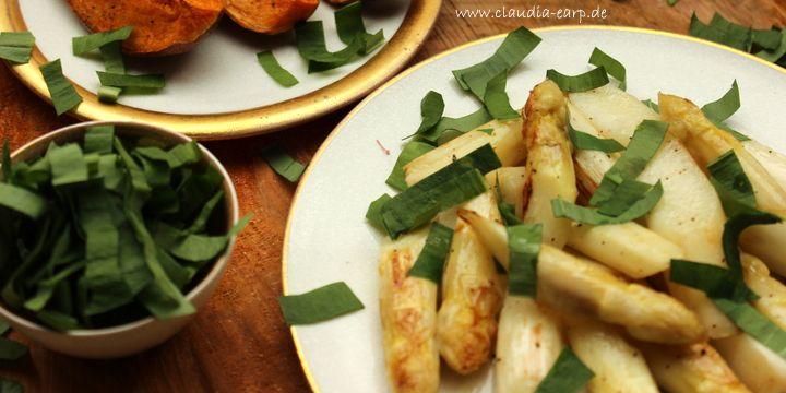 Spargel und Bärlauch – zwei Zutaten – ein leckeres Gericht