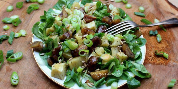 Pastinaken-Maronen-Salat