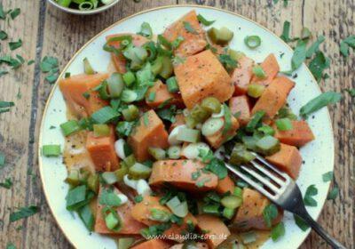Süßkartoffelsalat