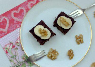 Valentinstags-Brownies – vegan