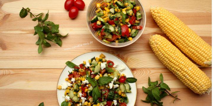 Gartenfrischer Mais-Salat